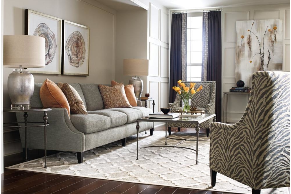Crawford Sofa Setting Bernhardt New Product December 2016