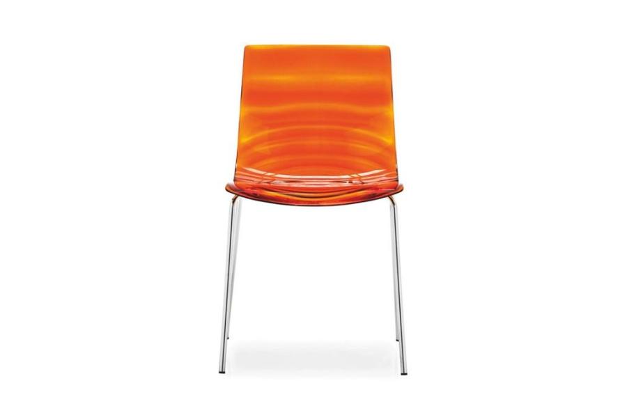 leau chair orange Calligaris chair images