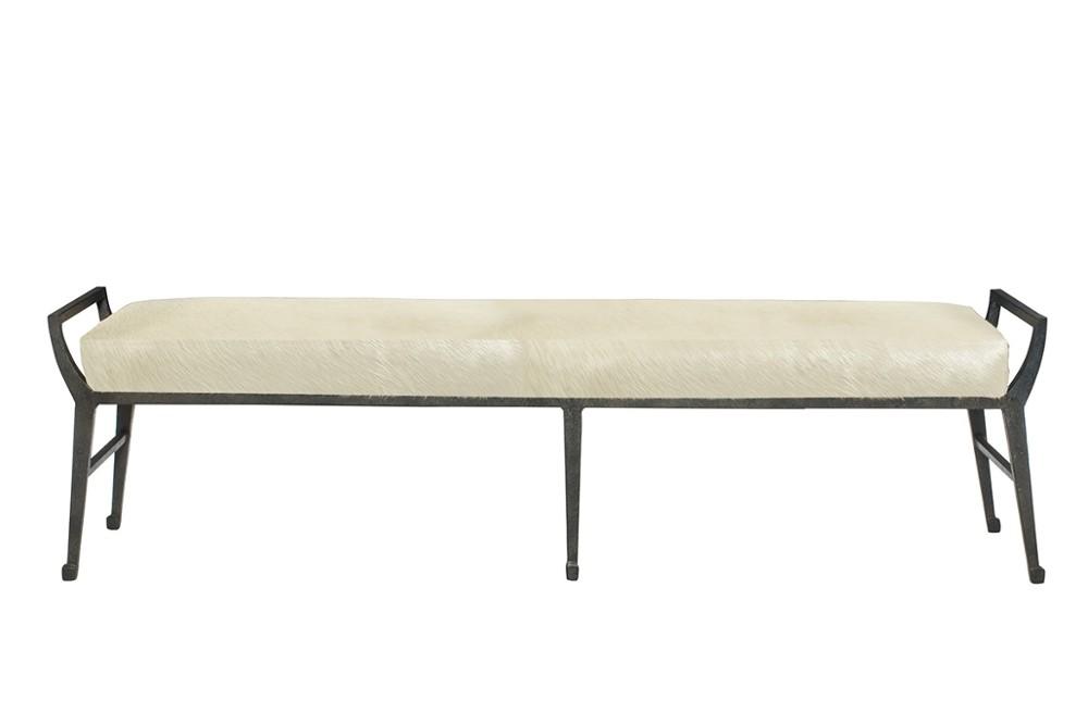Mansfield%20bench%201.jpg Mansfield bench_ Bernhardt_Exposed metal frame_Natural material seat_ Minimilist design Mansfield%20bench%201.jpg
