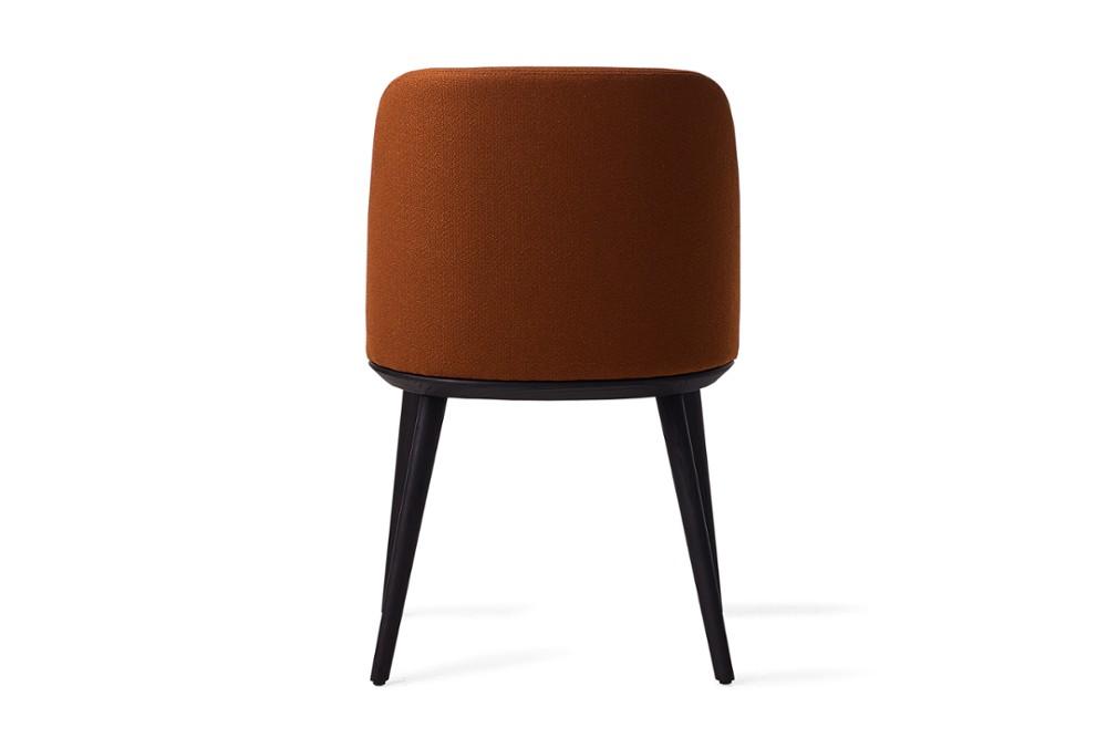 CS1888 Foyer Chair Bergan Brick Red Fabric Matt Black Wood Frame Calligaris Back CS1888_Foyer_Chair_Bergan-Brick_Red-Fabric_Matt-Black-Wood-Frame_Calligaris_Back.jpg