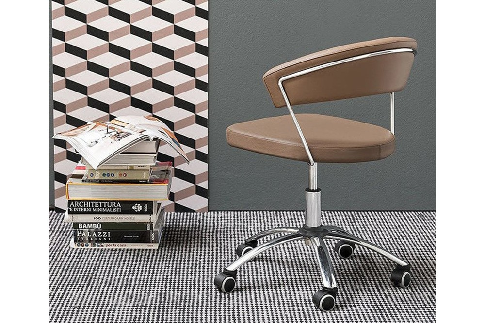 New%20york%202.jpg New York Chair_By Connubia_ Calligaris_ Designed by Metal FRame_Upholstered seat and back rest_Swivel height adjustable chair_Metal base with Five soft rubber castors New%20york%202.jpg