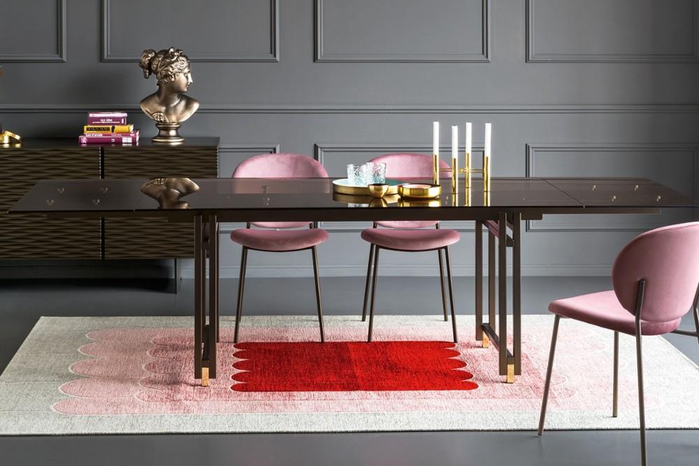 ines pink calligaris ines pink calligaris .jpg ines chair calligaris dining curve