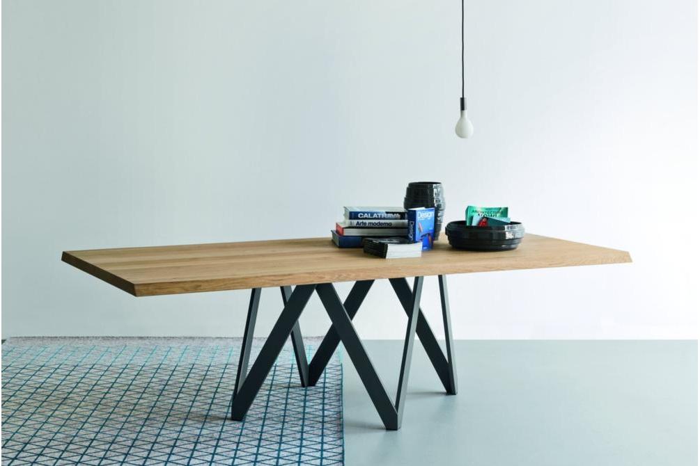 Cartesio Dining Table setting calligaris milan 2015
