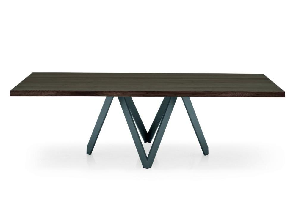 Cartesio Dining Table dark front calligaris milan 2015