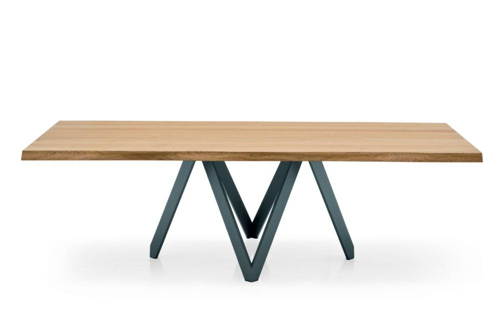Cartesio Dining Table light front calligaris milan 2015