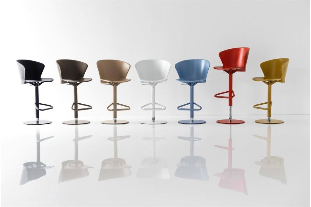 Bahia GasLift Group Calligaris Stools, Bahia, Palm bahia, palm, stool