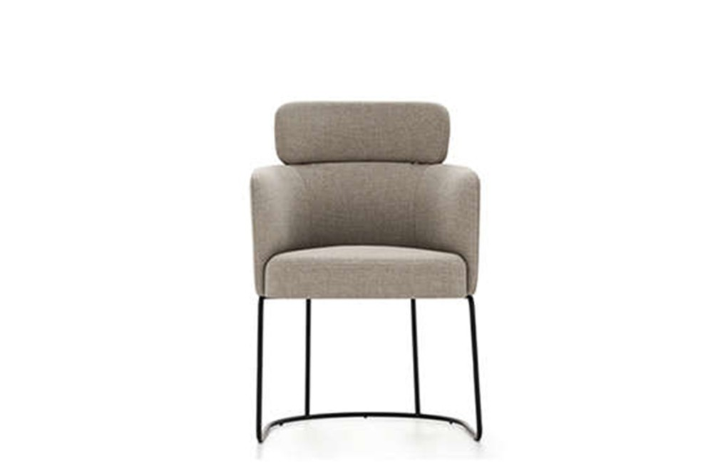 Claire Dining chair 3 Claire Dining chair 3.jpg Claire dining chair%5FBy Ditre Italia%5F Designed by Daniele Lo Scalzo Moscheri%5FCircular Chair%5F Metal frame%5F Fabric or leather upholstery