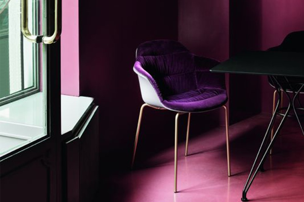 mood 34 19r m325 z006 tve03 vincent 20 55 m327 p 26 pf01 2 1 mood_34-19r_m325_z006_tve03_vincent_20-55_m327_p-26_pf01_2__1.jpg Mood Covered 4 Leg Metal Carver Chair by Bontempi Casa