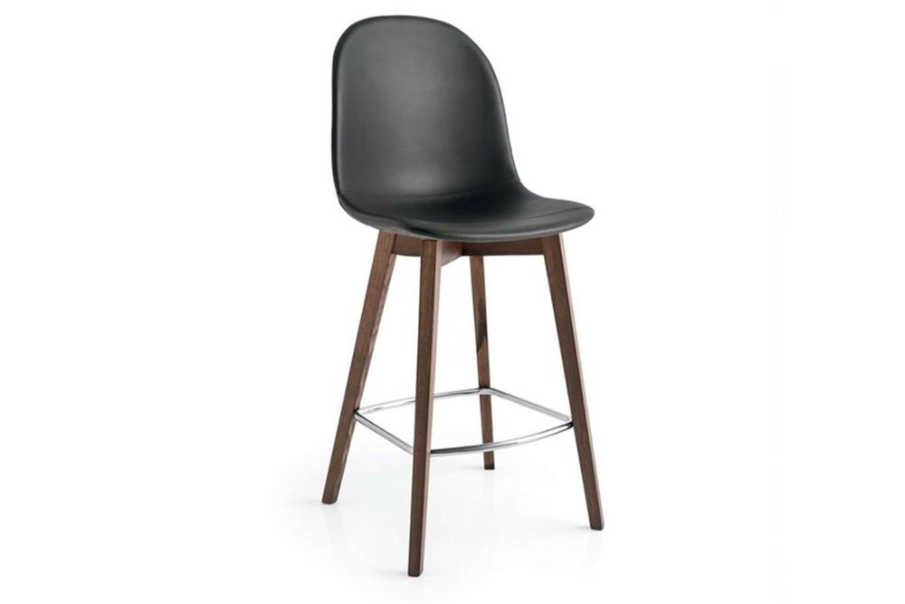 Academy wood stool 2 Academy wood stool 2.jpg Academy wood stool%5FBy Calligaris%5F Four legs%5F