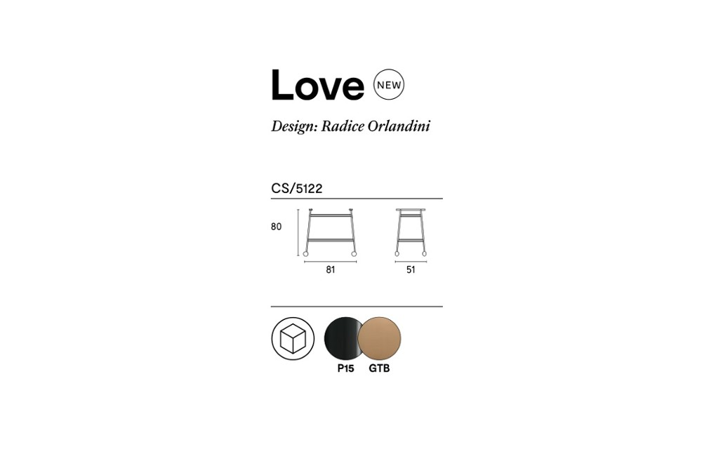 Love%20trolley%20spec%20sheet.jpg Love trolley_ By Calligaris_ Designed by Radice Orlandini_ Four castor wheels_ Bronze glass_Food trolley Love%20trolley%20spec%20sheet.jpg