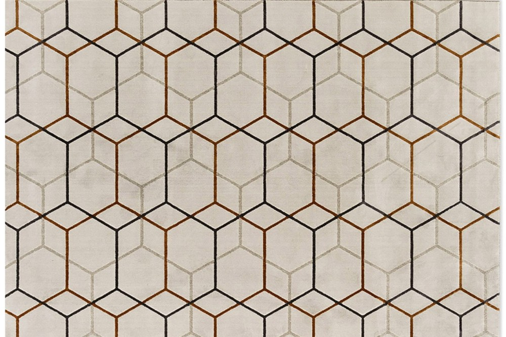 Offset%201.jpg Offset Rug_ By Calligaris_ Made in Italy_ Designed by Brogliato Traverso_Series of intersecting Lines_Multiple overlapping layers_ Hexagonal pattern Offset%201.jpg