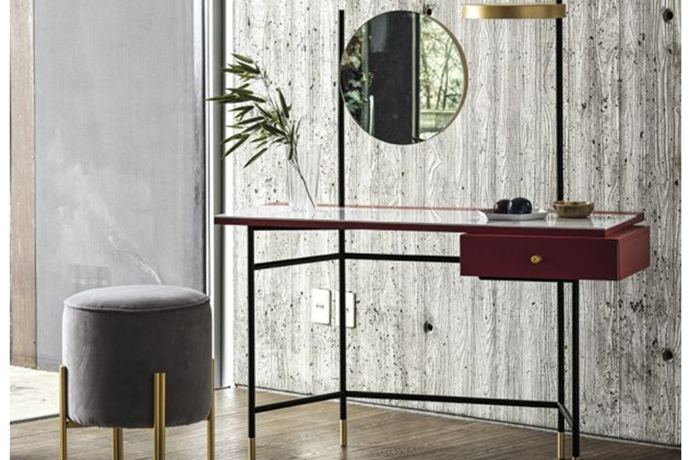Vanity%204.jpg Vanity Desk_ By Bontempi Casa_Desk with Paper holder_Lacquered metal frame_decorative feet, drawer handle, mirror and light Vanity%204.jpg