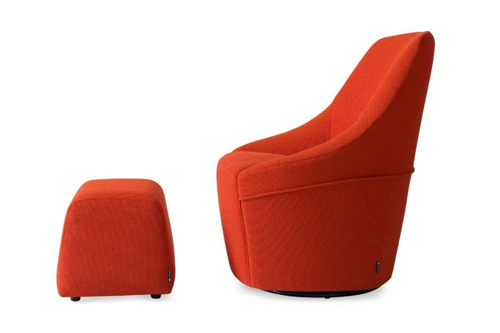 cs 3366 a 02.jpg Alma Swivel Armchair_ By Calligaris_ Made in Italy_ Designed by Bernhardt & Vella _Decorative stitching_ Cold cured Polyurethane foam_ Single or two tone colour fabric or leather covers cs 3366 a 02.jpg