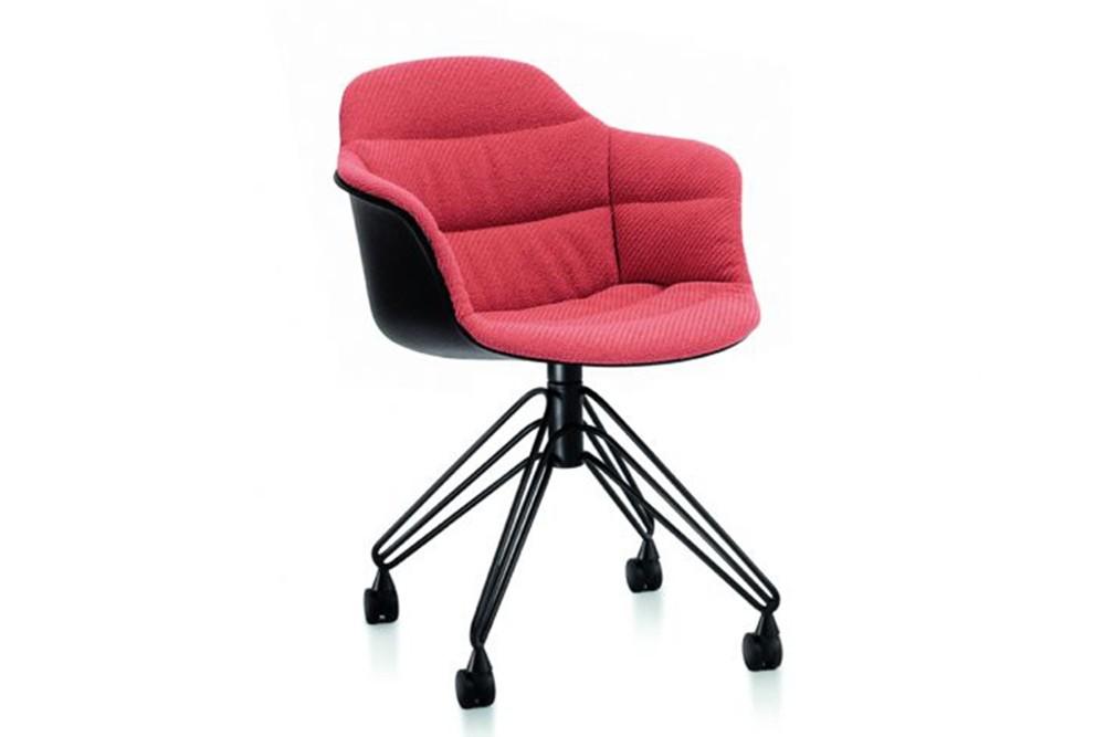 Mood Covered Swivel Carver chair 3 by bontempi casa Mood Covered Swivel Carver chair 3 by bontempi casa mood 34 22r m055 z005 tkc04 1.jpg