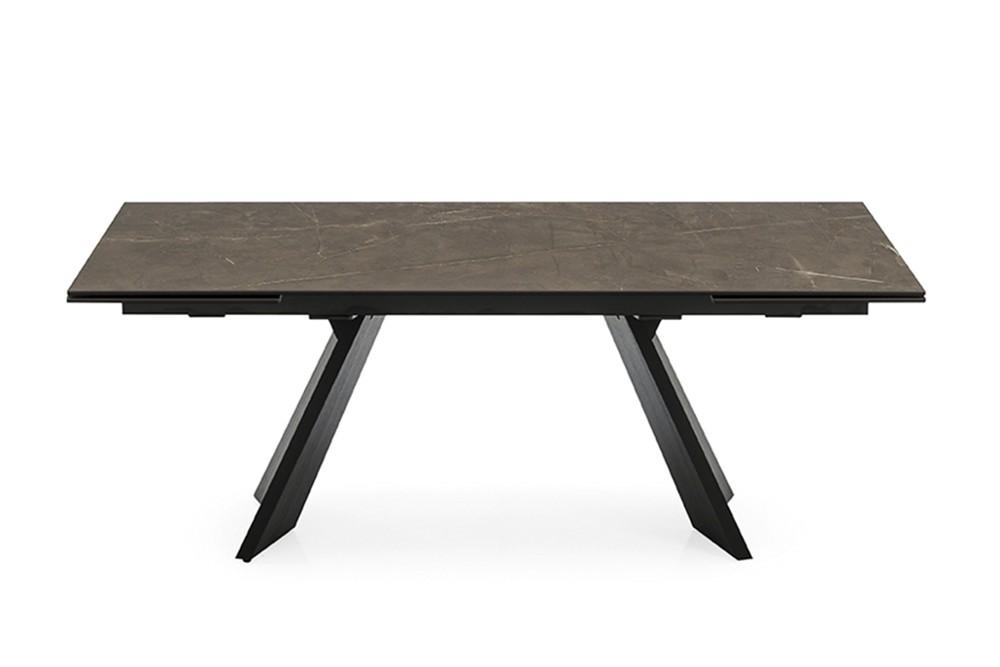 Icaro%204.jpg Icaro Table_ By Calligaris_ Designed by Busetti, Garuti, Redaelli_Extension table_ Veneered wood base_ Wood or ceramic top_ Two side extension leave_ Easy mechanism Icaro%204.jpg