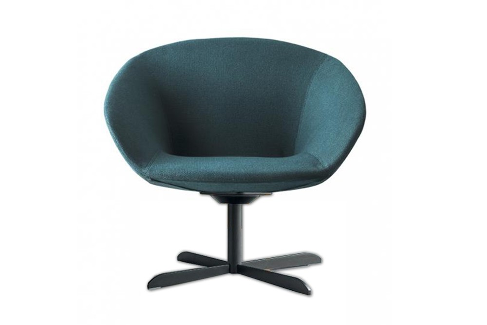 Love%20chair%201.jpg Love armchair_ By Calligaris_ Designed by Radice Orlandini_Blue Fabric_ Black base_ Swivel_ Love%20chair%201.jpg