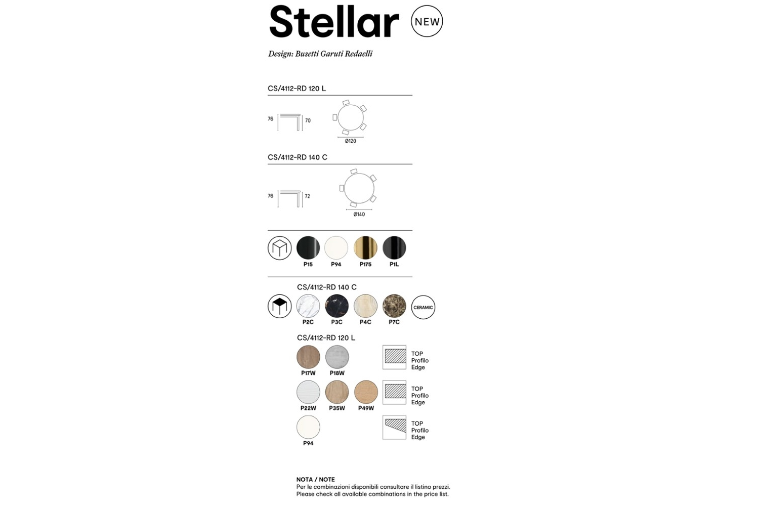 Stellar%20Spec%20sheet.jpg Stellar dining table _ By Calligaris _ Designed by Busetti Garuti Radaelli_ Made in Italy _ Fixed Round Table_ Intertwining elements in base_ Cosmic inspired_ Metal base Stellar%20Spec%20sheet.jpg