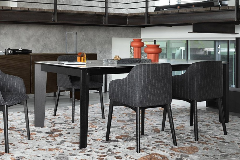 Alpha%203.jpg Alpha dining table_ By Calligaris_Made in Italy_Designed by Calligaris Studio_Extendable table_Combination of wooden legs and ceramic top_ Tapered multi-faceted legs Alpha%203.jpg