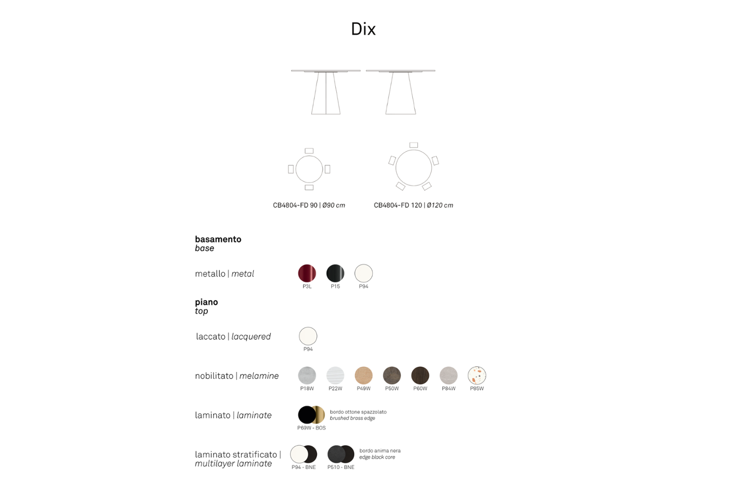 Schematic dix dining table connubia Schematic dix dining table connubia .png connubia schematic dining armchair seating 2020