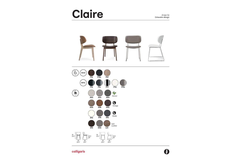 Schematic Claire 2021 page 001 Schematic Claire_2021-page-001.jpg Calligaris Schematic