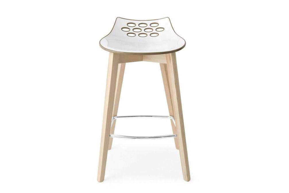 Jam Wood Stool Nougat Jam Wood Chairs and Stools