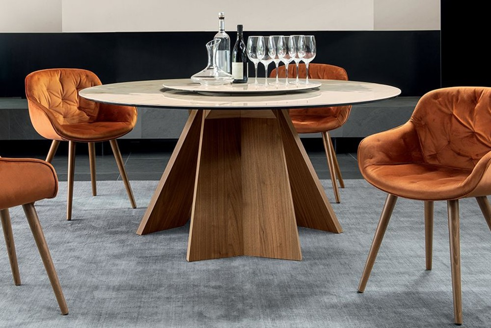 Icaro Round cs 4113 rd 160 c 02.jpg Icaro_Calligaris_Non-extending table with optional tray_Busetti / Garuti / Redaelli_ cs 4113 rd 160 c 02.jpg