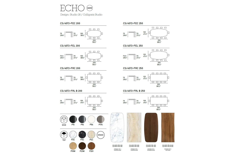 Echo Fixed Table Calligaris cs4072 Schematics Calligaris Schematic Diagrams Schematics