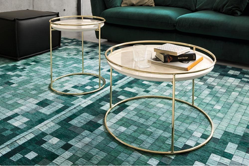 Atollo cs5098 P175 P4C cs3392 ST3 02 Vortex Table Calligaris Metal Glass Ceramic Vortex Table - Calligaris - cs4108 - Round Table - Smoke Glass Ceramic Stone Marble Table Helical design