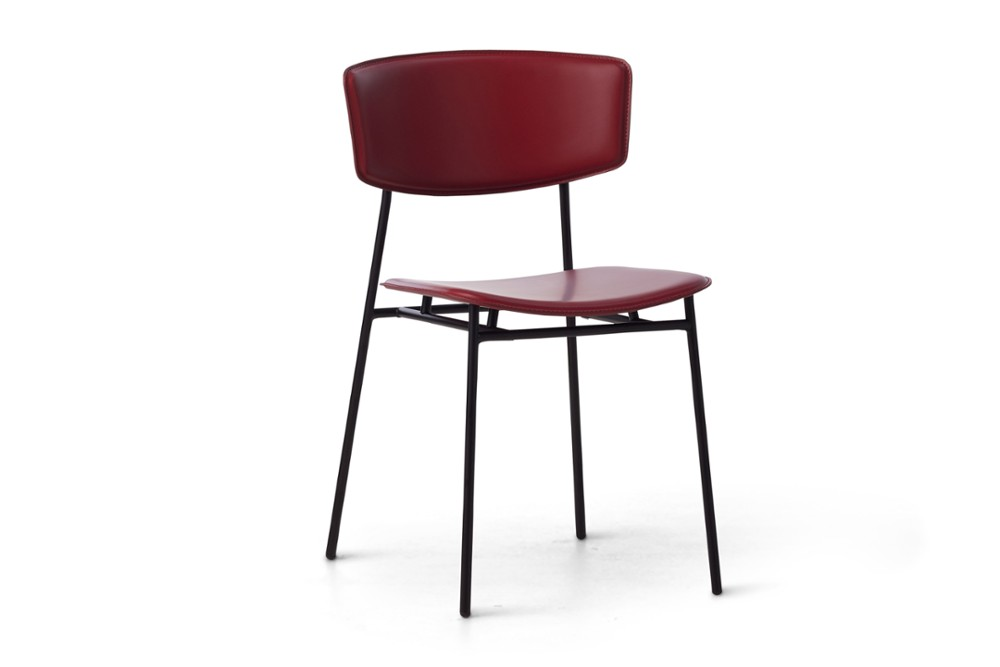 CS1854 Fifties Chair Burgundy Leather Black Frame Calligaris Angle CS1854_Fifties_Chair_Burgundy-Leather_Black-Frame_Calligaris_Angle.jpg
