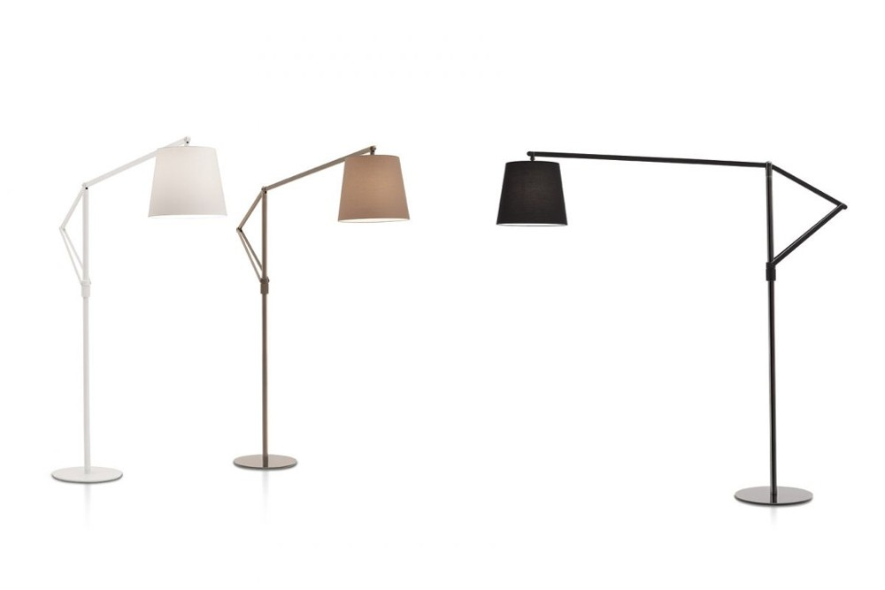 Cloe%201.jpg Cloe Floor Lamp_ By Bontempi Casa_ Made in italy_Lacquered metal frame and base_ Adjustable arm_ Fabric lampshade Cloe%201.jpg