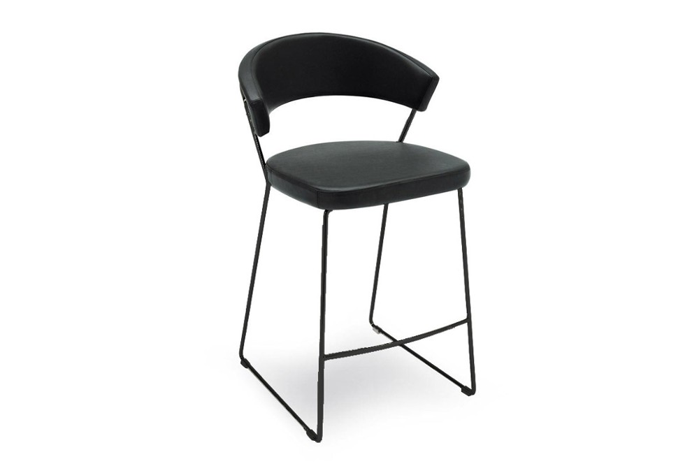 New%20york%20stool%202.jpg New York stool_ By Calligaris_ sled base option_ Black Base_ Leather upholstered seat New%20york%20stool%202.jpg