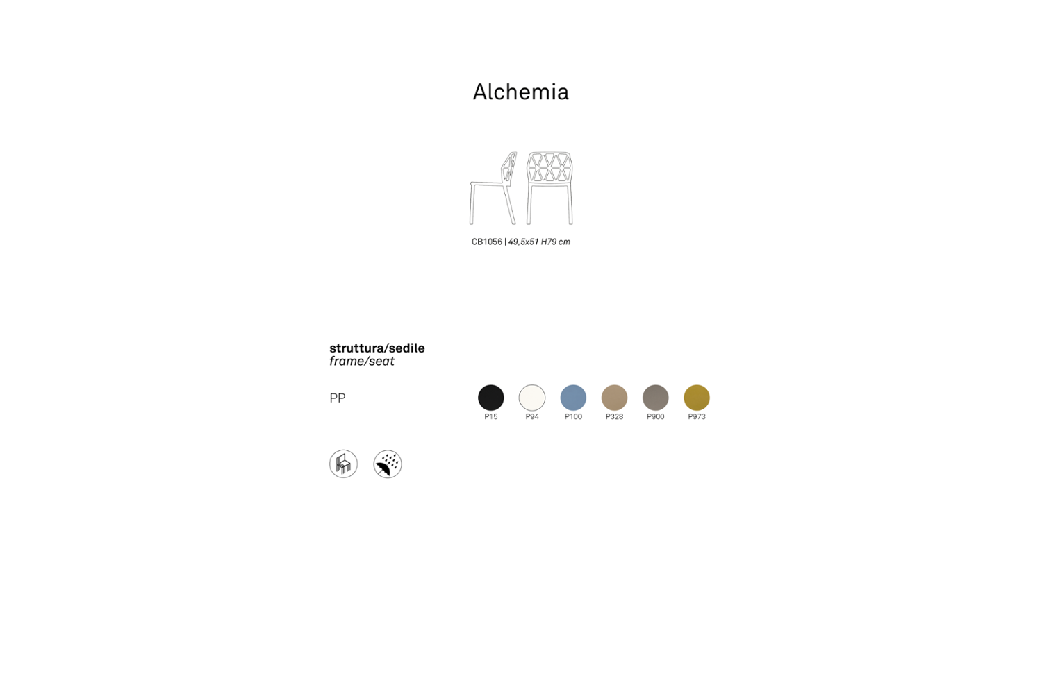 ALCHEMY SCHEMATIC CONNUBIA ALCHEMY SCHEMATIC CONNUBIA.png connubia schematic dining armchair seating 2020