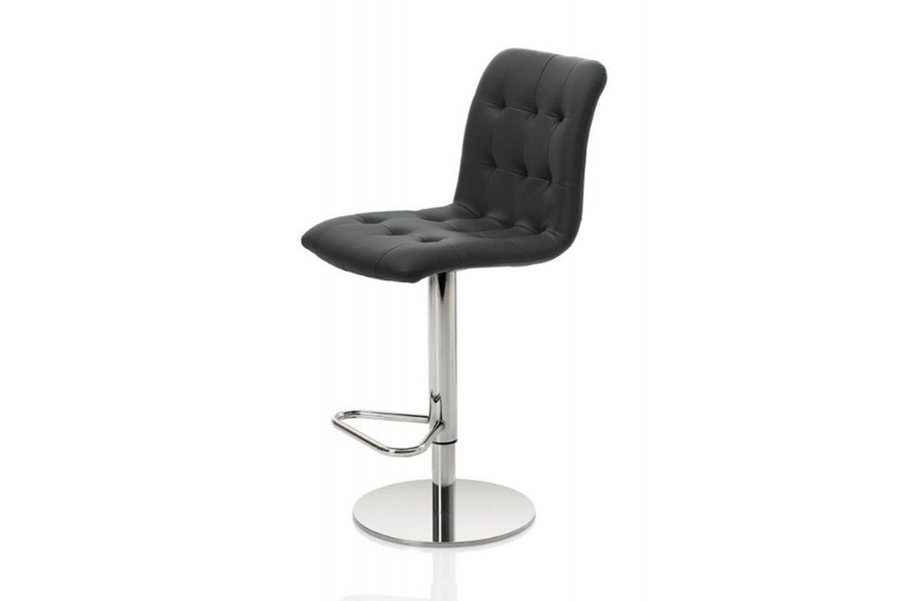 Kuga%20gas%20lift%201.jpg Kuga bar stool _ By Bontempi Casa_ Made in Italy_ Swivel base_Chrome metal frame_ Adjustable height Kuga%20gas%20lift%201.jpg