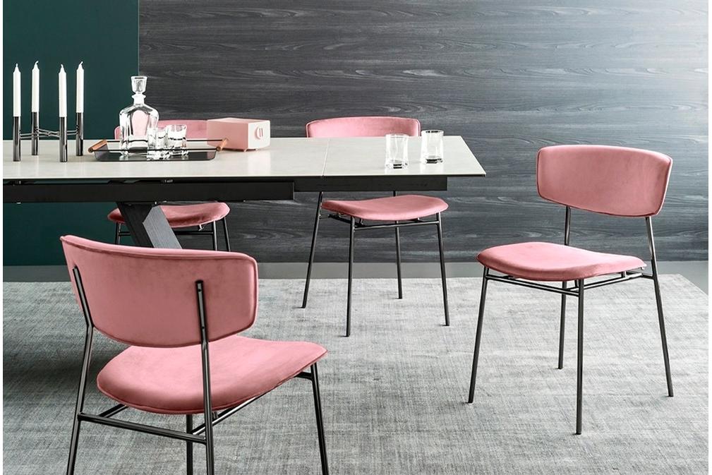 Fifties CS1854 P1L Venice Forest Green Venice Pink cs4114 RC LAMINATED CERAMIC Salt White Chair Setting WEB Fifties_CS1854_P1L_Venice_Forest_Green_Venice_Pink_cs4114-RC_LAMINATED_CERAMIC_Salt_White_Chair_Setting_WEB.jpg Calligaris