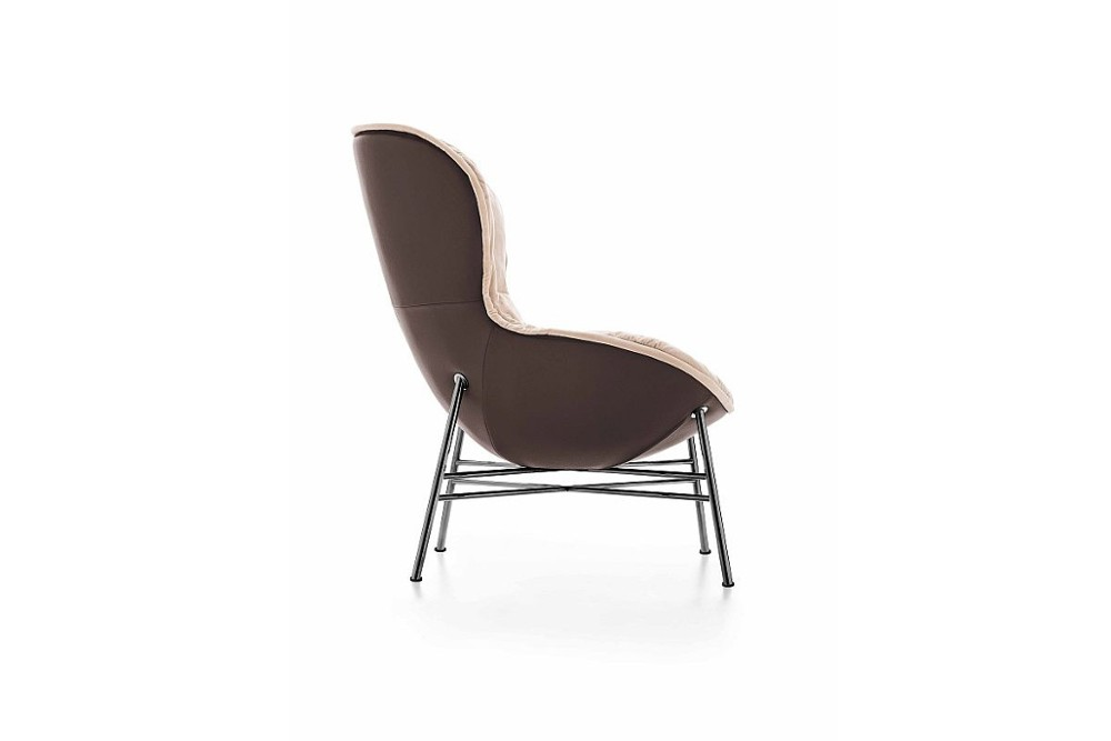 Softy%205.jpg Softy Armchair_By Ditre Italia_Made in italy_Designed by Edi & Paolo Ciani Design_Upholstered _Metal Base_wood base_Lounge_Soft Padded seat_Fixed or swivel base options Softy%205.jpg