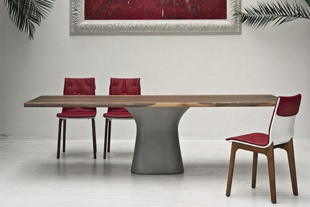 Podium%202.jpg Podium Table_By Bontempi Casa_ Extendible or fixed option_ Concrete base_ Curved top Podium%202.jpg