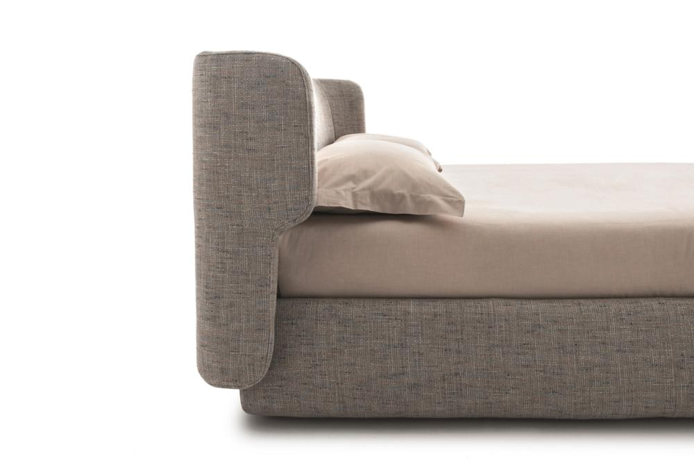 claire letto 06 b Claire Bed - Ditre Italia - Leather Fabric - Made in Italy Made in Italy Ditre Italia Leather Fabric Mix Claire bed italian comfort mixed materials stunning bedroom industrial design