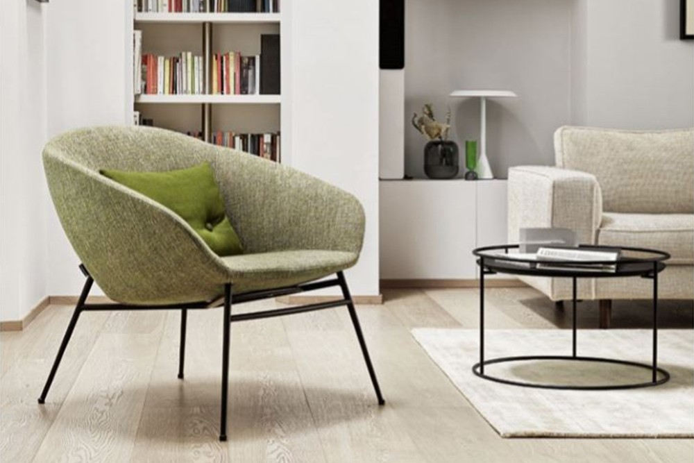 Love%20chair%202.jpg Love armchair_ By Calligaris_ Designed by Radice Orlandini_Blue Fabric_ Black base_ Swivel_ Love%20chair%202.jpg