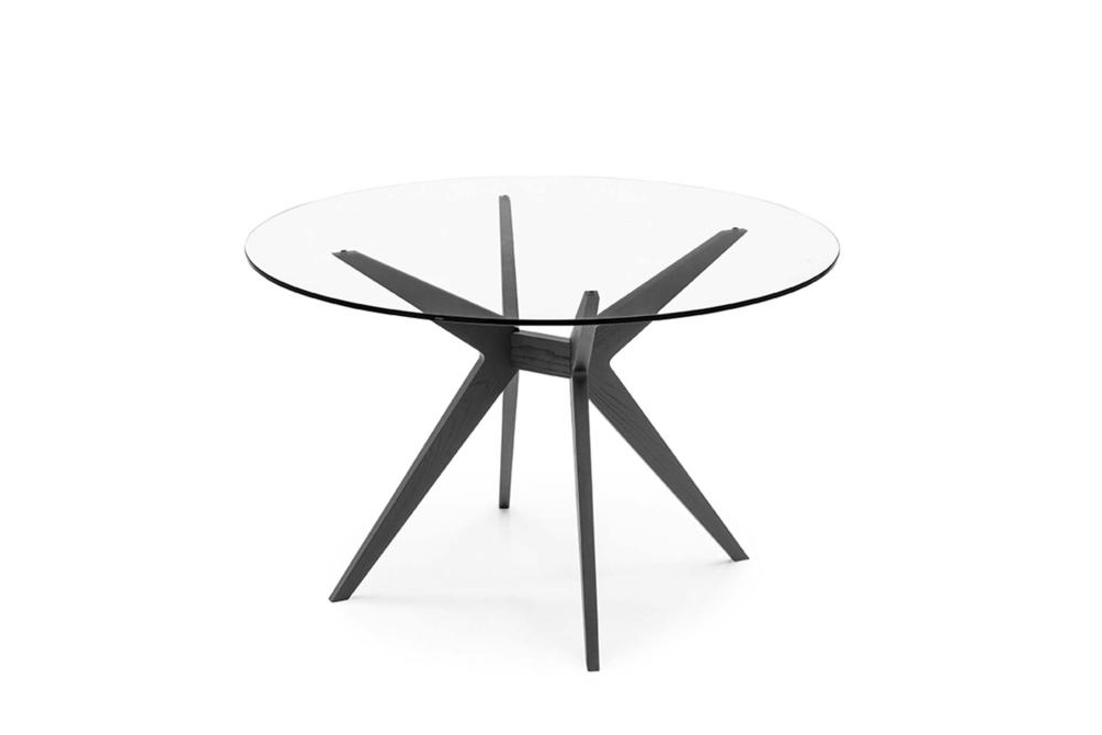 Kent Dining Table Round Glass Top Kent Dining Table Dining Table Glass Ceramic Calligaris