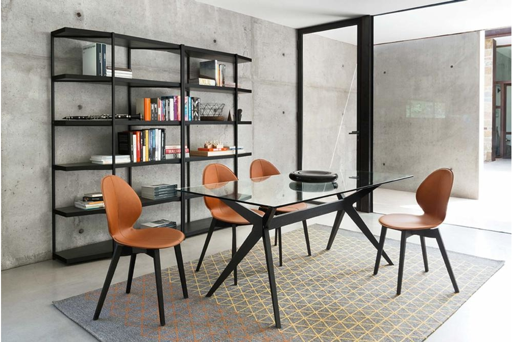 Kent Dining Table Glass Basil Leather Chairs Kent Dining Table Dining Table Glass Ceramic Calligaris