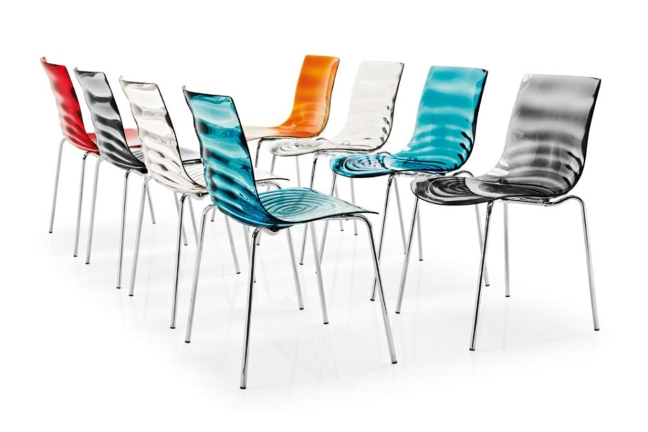 LEau cs1273 col 8CH L'Eau. Chairs and stools. Calligaris L'Eau. Chairs and stools.