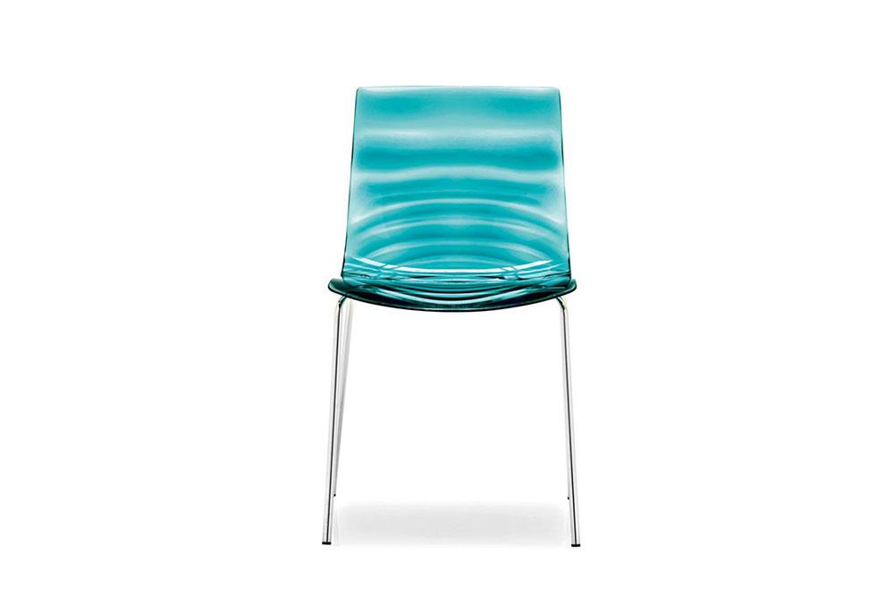LEau cs1273 P77 P296 front L'Eau. Chairs and stools. Calligaris L'Eau. Chairs and stools.