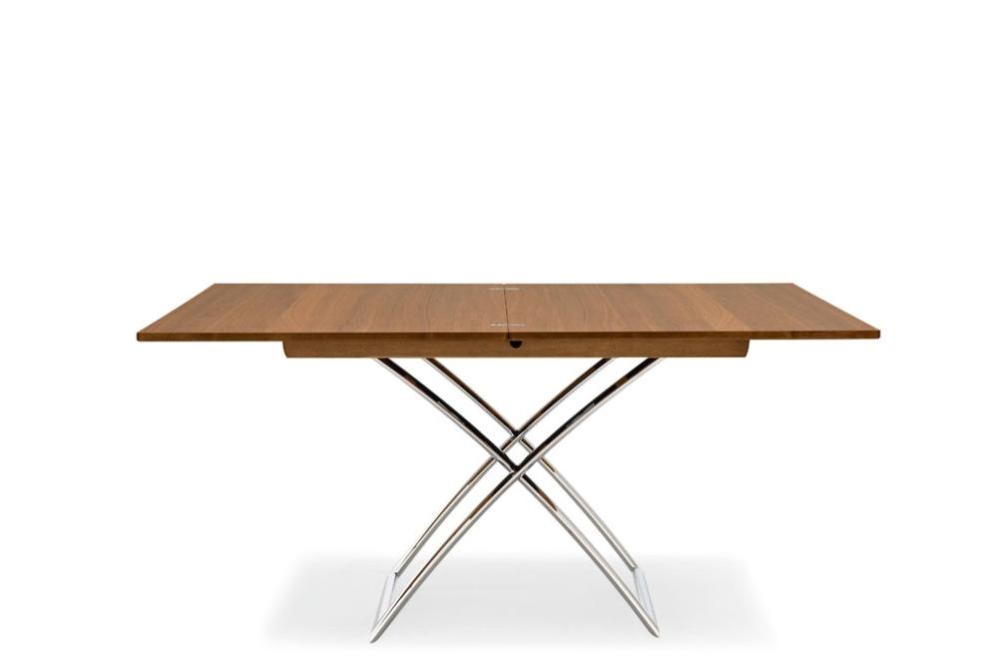 MagicJ cs5041 W P77 P201 front op Magic J glass dining table. Calligaris. Magic J glass dining table.
