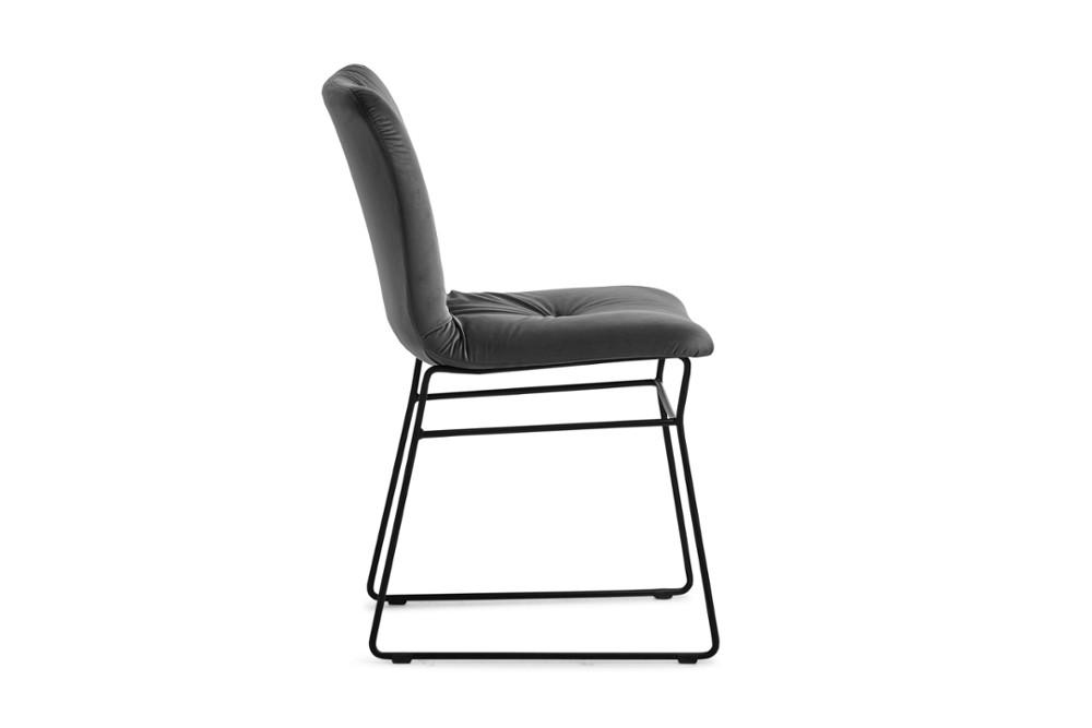 CS1849 Annie Soft Chair Ash Grey Venice Matt Black Metal Frame Calligaris Side CS1849_Annie_Soft_Chair_Ash-Grey-Venice_Matt-Black-Metal-Frame_Calligaris_Side.jpg