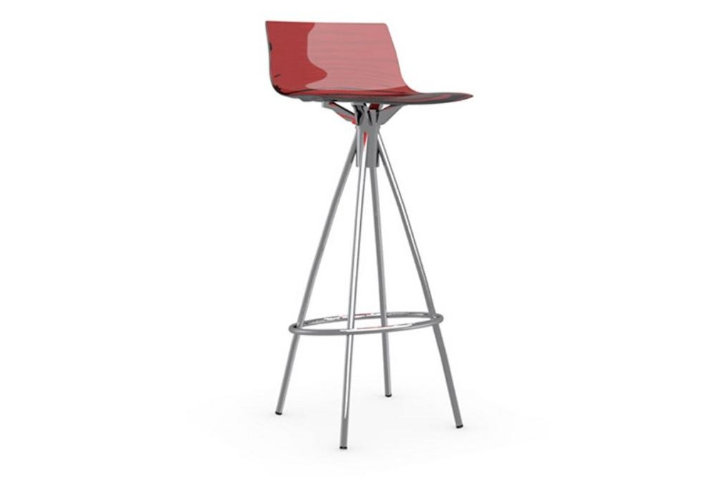 l'eau stool 65cm red L'eau stools