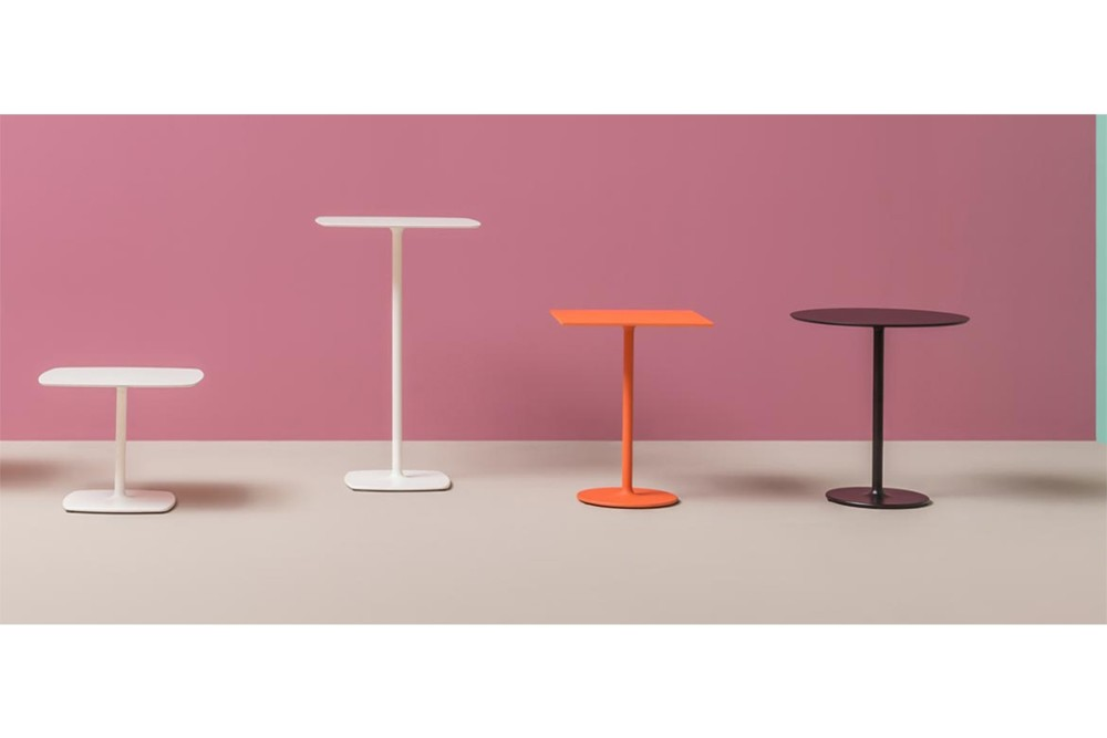 STYLUS 003.jpg Italy_ TYLUS 5400_DESIGN:PEDRALI R&D_minimalistic look_organic outline_slim central column_rounded corners_flat square base_both square and round table tops. STYLUS 003.jpg