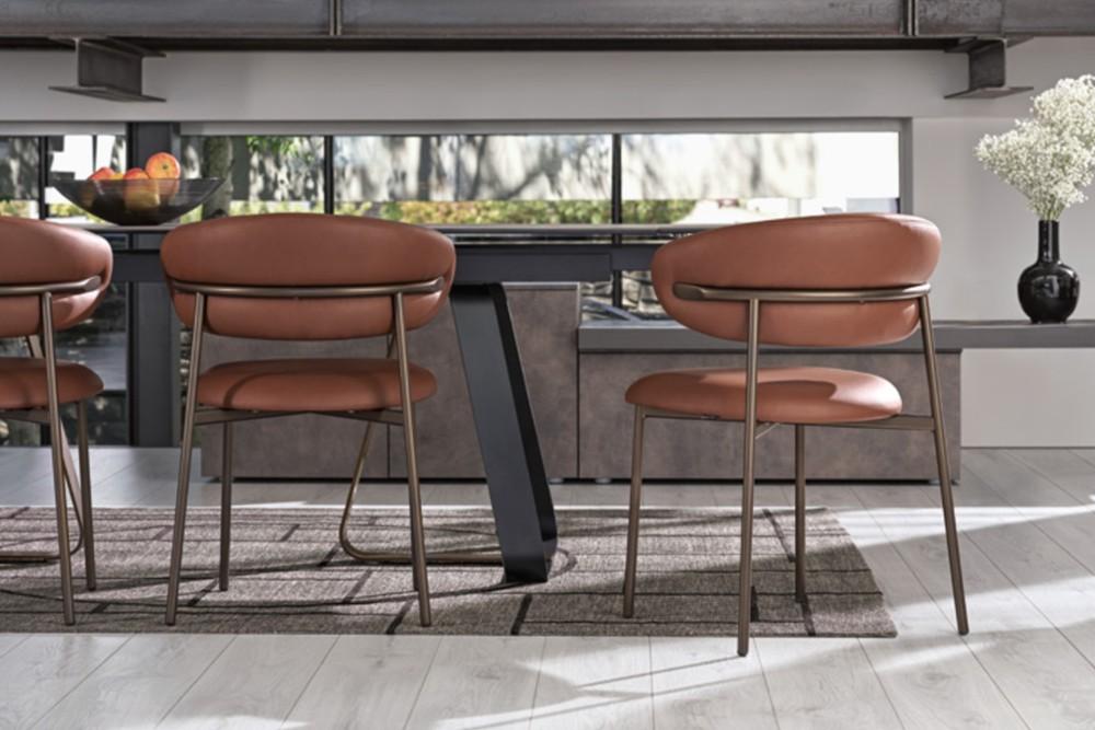 OLEANDRO CHAIR CALLIGARIS BRONZE OLEANDRO-CHAIR CALLIGARIS BRONZE.jpg OLEANDRO CALLIGARIS dining chair
