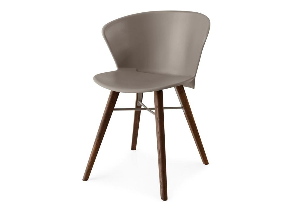 Bahia Chair Taupe Walnut Bahia Dining Chair Bahia Calligaris Dining Chair