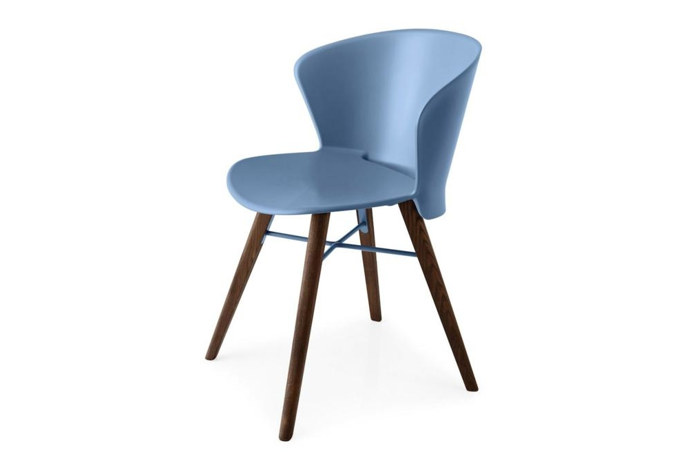Bahia Chair Blue Walnut Bahia Dining Chair Bahia Calligaris Dining Chair