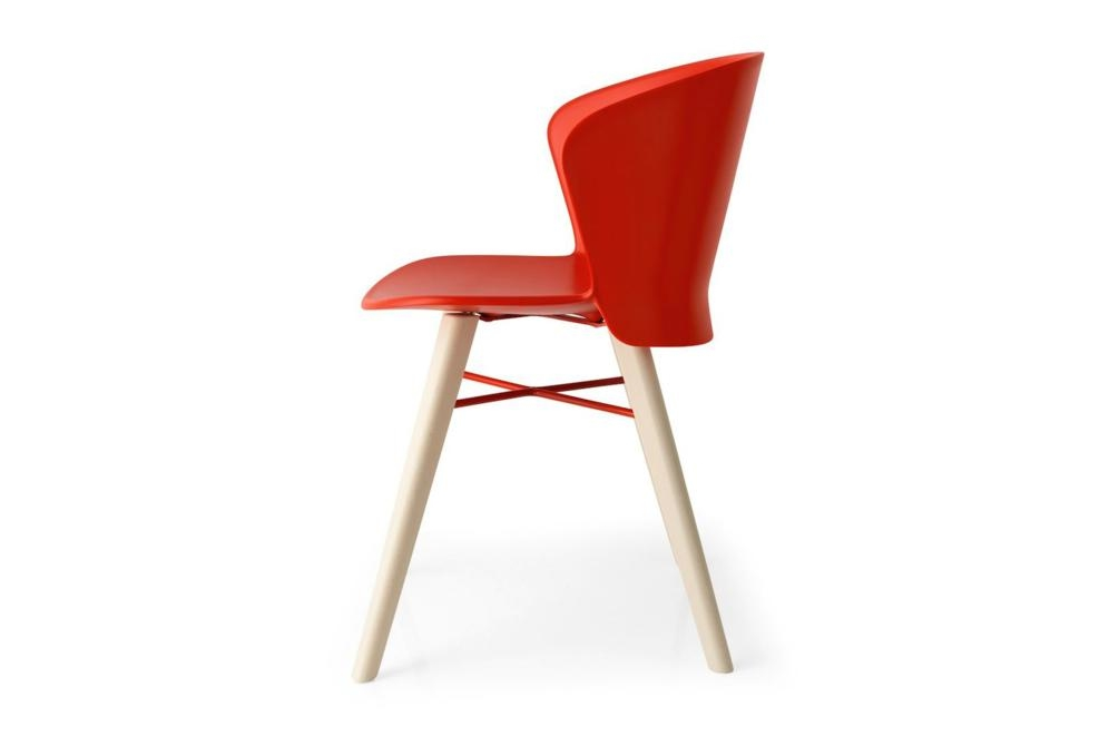 Bahia Red Beech Bahia Dining Chair Bahia Calligaris Dining Chair